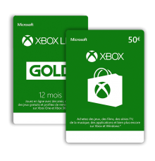 Xbox Live (memberships & wallet credit)