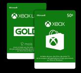 Xbox Live (memberships & wallet credit)
