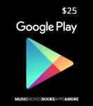 Google play 25€