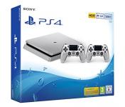 Playstation 4 silver incl. 2ème manette