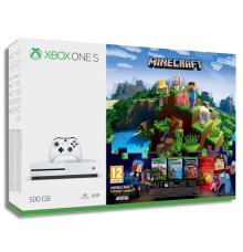 Xbox One S 500Go incl. Minecraft
