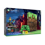 Xbox One S 1To Minecraft Edition Limitée