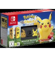 Nintendo Switch incl. Pokémon: Let's Go Pikachu!