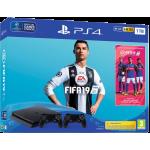 Playstation 4 Slim + FIFA 18