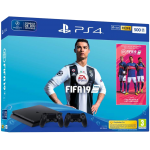 Playstation 4 Slim 2 controller incl. Fifa 19