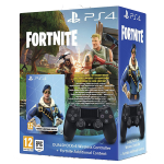 Controller PS4 Dual Shock 4  Jet Black + Fornite Bonus Content Bundle