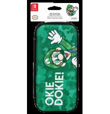 Pochette Nintendo Switch Luigi Camo Edition