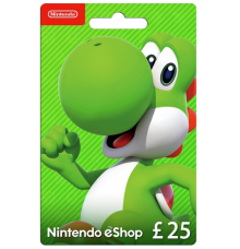 Nintendo E-Shop Card 25 EUR