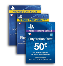 PSN (playstation network memberships)