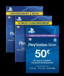PSN (playstation network memberships)