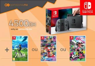 Nintendo Switch incl. zelda. splatoon 2