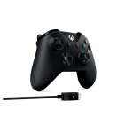 Controller wireless Black + Cable