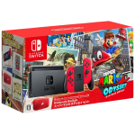 Nintendo Switch incl. Mario Odyssey, pouch