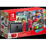 Nintendo Switch incl. Mario Odyssey, pochette