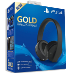Casque PS4 sans fil Gold Edition