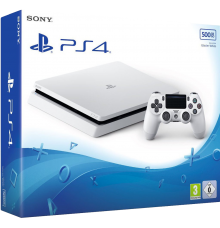 Playstation 4 Slim Blanche