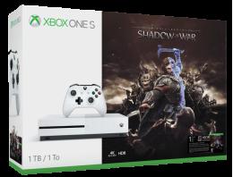 Xbox One s 1To incl. L'Ombre de la Guerre