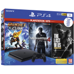Playstation 4 Slim incl. God of War 3 Uncharted 4 Horizon Zero Dawn