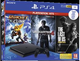 Playstation 4 Slim incl. God of War 3 Uncharted 4 Horizon Zero Dawn