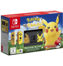 Nintendo Switch incl. Pokémon: Let's Go Pikachu!