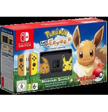Nintendo Switch incl. Pokémon: Let's Go Eeve