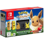 Nintendo Switch incl. Pokémon: Let's Go Eevee