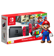 Nintendo Switch incl. Mario Odyssey and super mario