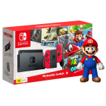 Nintendo Switch incl. Mario Odyssey and super mario