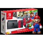 Nintendo Switch incl. Mario Odyssey et super mario