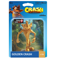 Crash Bandicoot Totaku Figure Golden Edition
