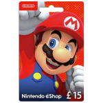 Nintendo E-Shop Carte 15 EUR | Nintendo switch