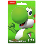 Nintendo E-Shop Carte 25 EUR | Nintendo Switch