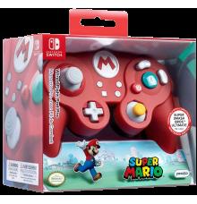 Manette Nintendo Switch Pro Avec Fil de Combat Super Mario