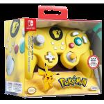 Manette Nintendo Switch Pro Avec Fil de Combat Pikachu | Nintendo Switch