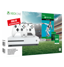 Xbox One S 1To incl. Two-Controller . Fifa 19