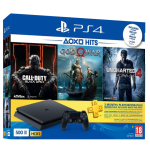 Playstation 4 Slim incl. The Last of Us Uncharted 4 Ratchet & Clank
