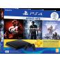 Playstation 4 Slim incl. Uncharted4 Gran Turismo  Horizon Zero Dawn (Complete Edition)