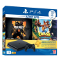 Playstation 4 Slim 1To incl.Crash Bandicoot N.Sane Trilogy Call of Duty : Black OPS 4