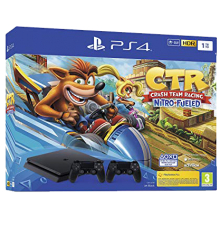 Playstation 4 Slim 1To incl. Crash Team Racing and 2eme Controller