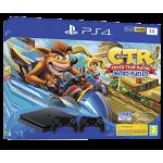 Playstation 4 Slim 1To incl. Crash Team Racing et 2eme Manette