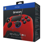 Manette ps4 Nacon Revolution Pro Rouge | Playstation 4