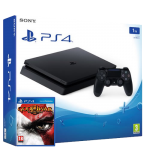 Playstation 4 Slim incl. Watch Dogs and God Of war remastered
