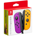 Paire de Joy-Con (L/R) Neon Purple/ Neon Orange | Nintendo Switch