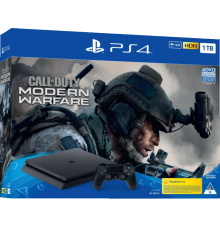 Playstation 4 Slim incl. Call of Duty Modern Warfare