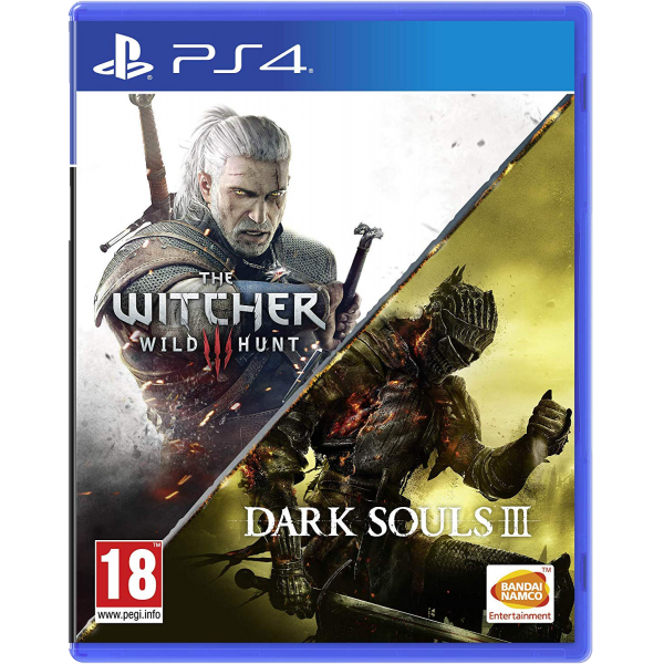 Dark Souls 3 And The Witcher 3 Wild Hunt Playstation 4