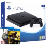 Playstation 4 Slim incl. The Witcher 3 and Dark Souls 3 | Playstation 4