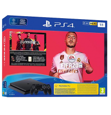 Playstation 4 Slim incl. Fifa 20 Two-Controller
