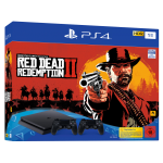 Playstation 4 Slim 1To incl. Red Dead Redemption 2 and  2eme controller