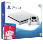 Playstation 4 Slim white Incl. Fifa 20 | Playstation 4