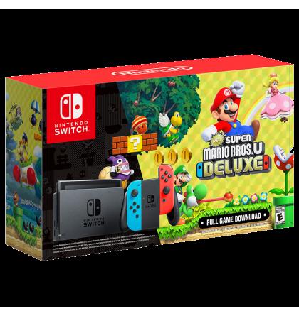 Nintendo Switch Incl New Super Mario Bros U Deluxe Nintendo Switch